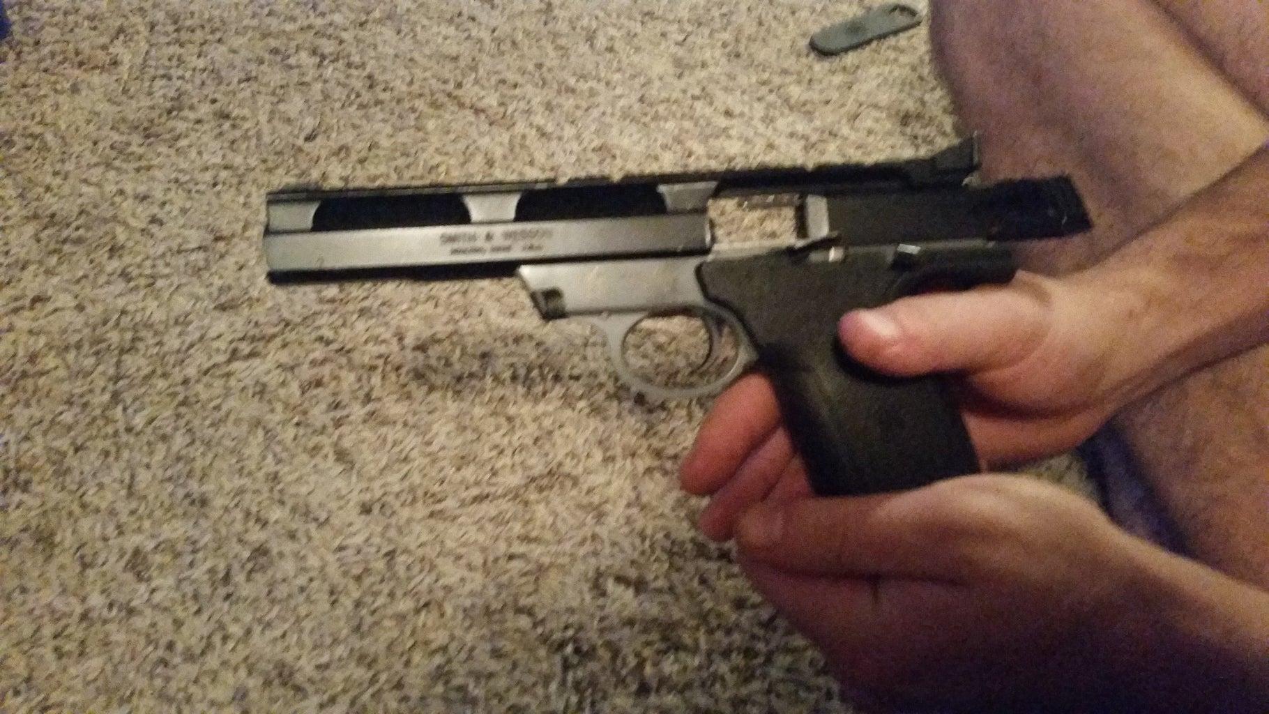 Re-Assembling a Field Stripped S&W 22A Pistol