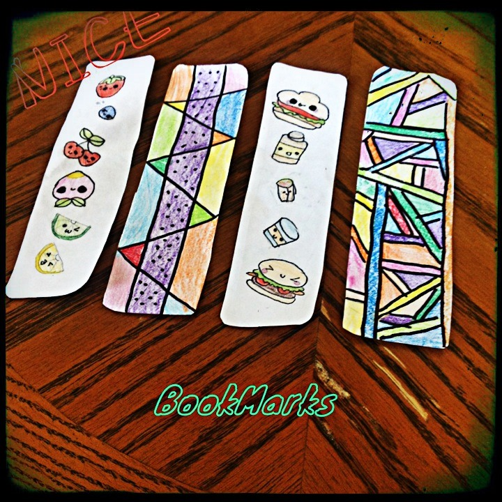 How To Make Paper Bookmarks