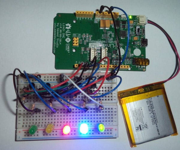 Linkit ONE - Led Lights Effects