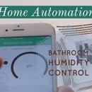 WiFi Bathroom Humidity Sensor W/Fan Control, App & Automation
