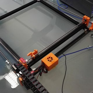 CNC Plotter (3D Printed Mostly)