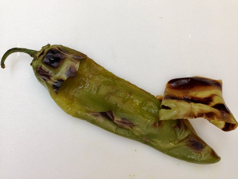Fire Roasting of Pepper