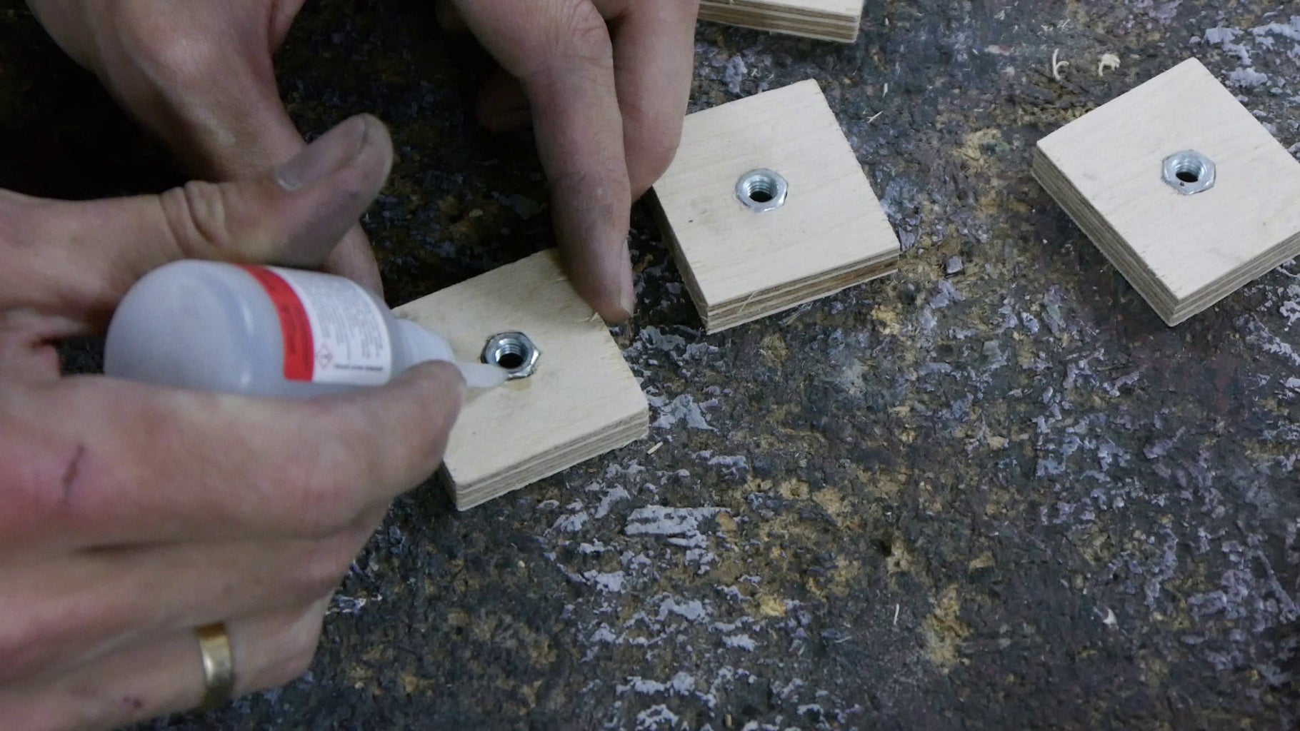 Back Covers - Mounting Points for the Rear Supports