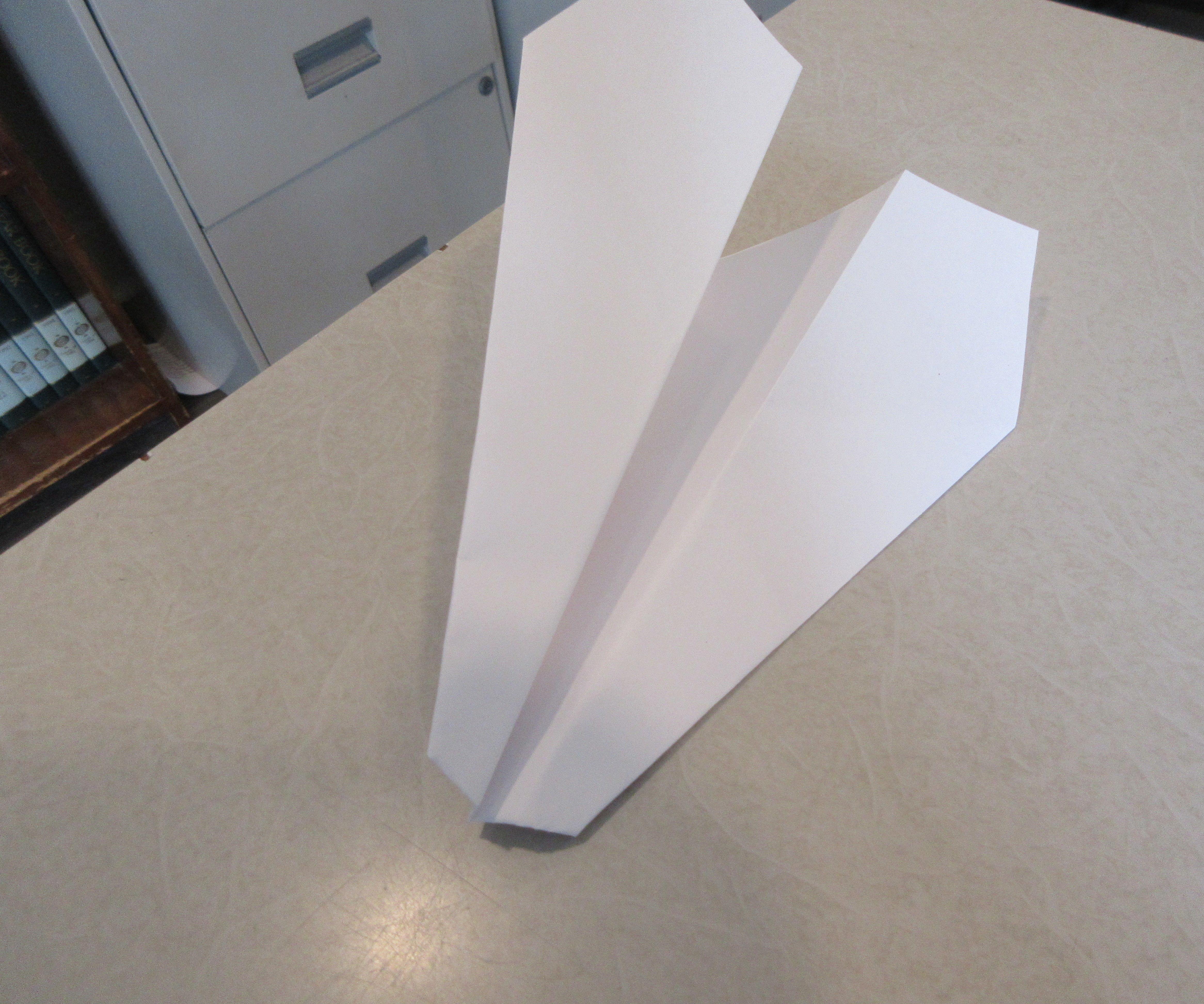 The Eagle Paper Plane (Flies Super!)