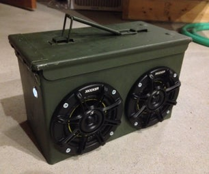 Ammo Can Boombox