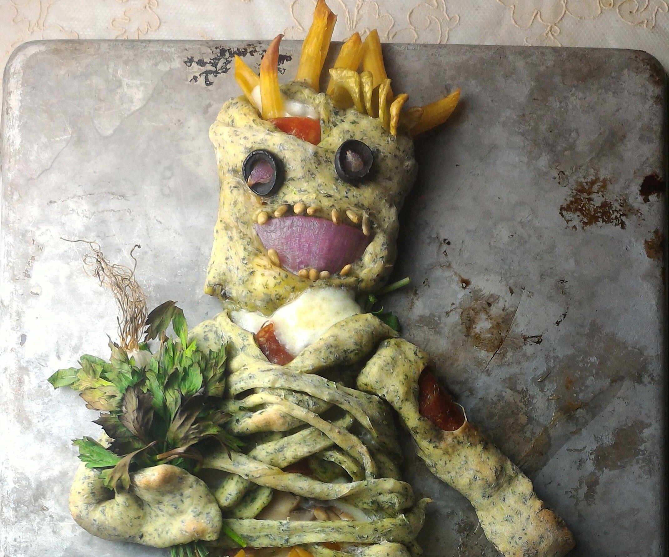 Zombie Calzone