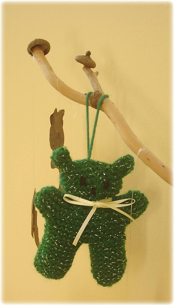 You Now Have a Tiny Teddy Tree Trim!