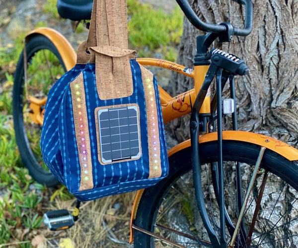 Convertible Solar Safety Bag With E-textile Loomia Tech
