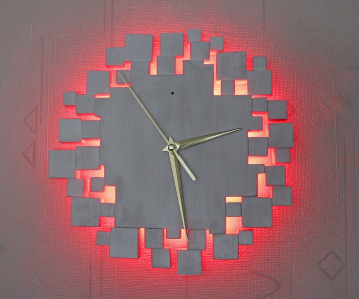 Preview of the Finished Clock
