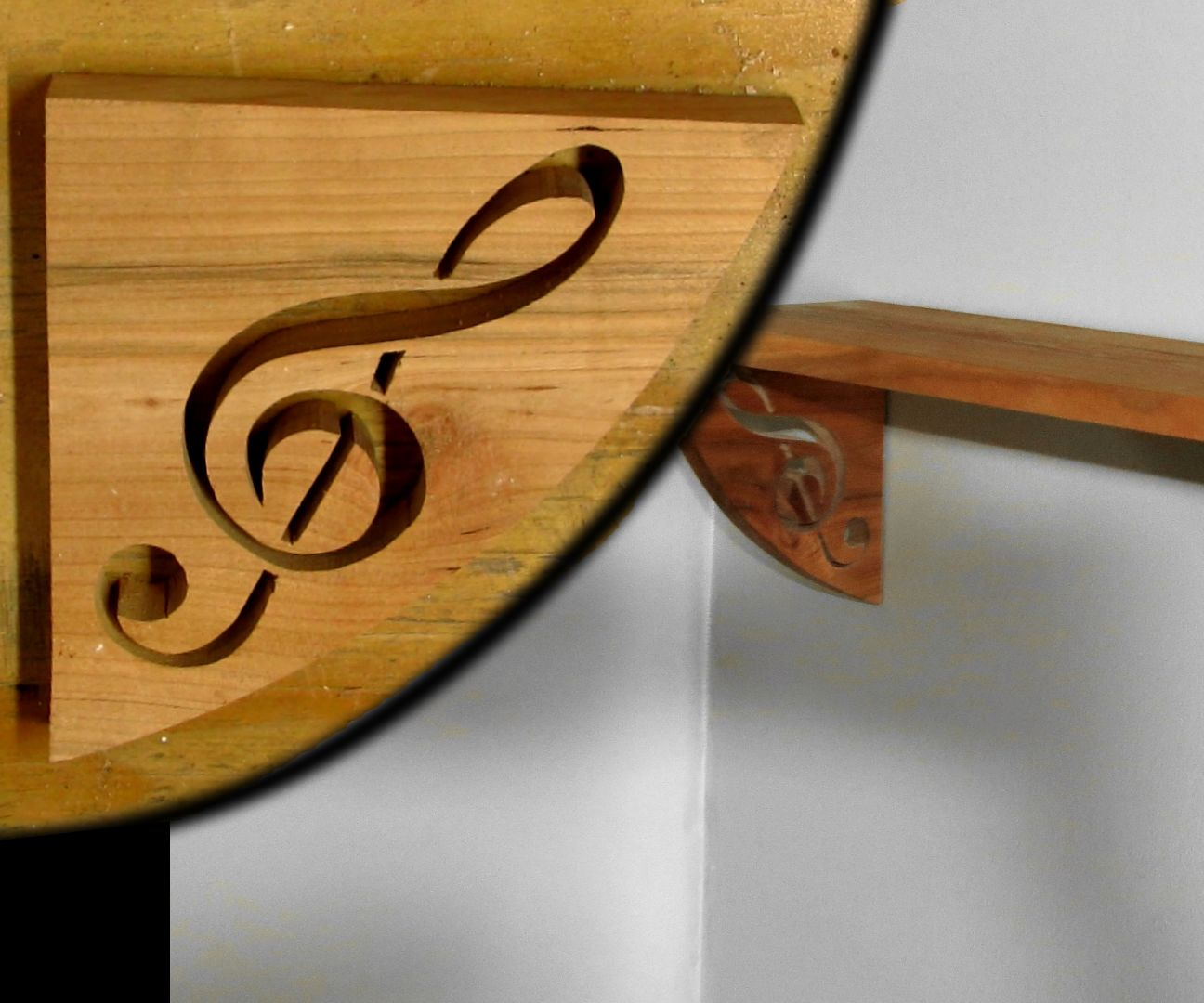 DIY Music Themed Shelf