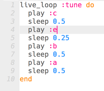 Familiarize Yourself With Sonic Pi