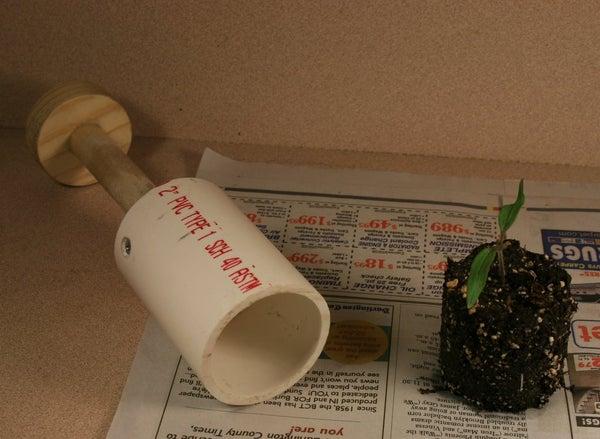 Making a Soil Blocker
