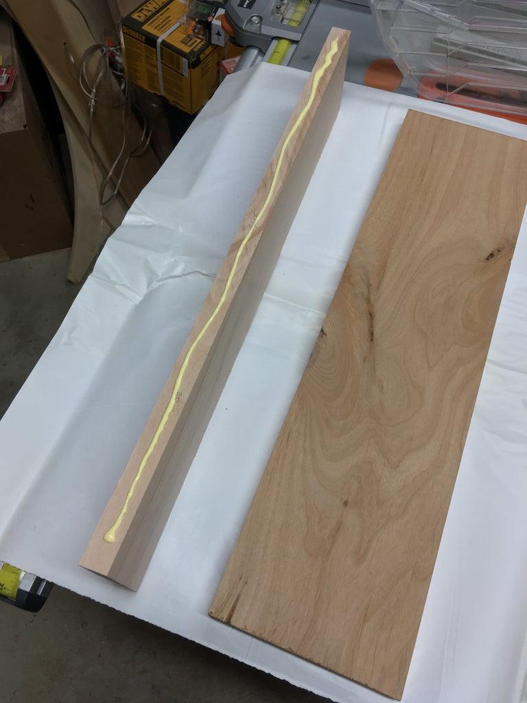 Wood Body Preparation: Back
