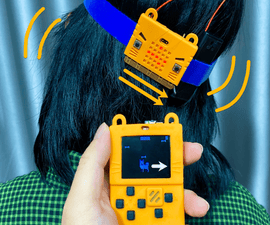 Micro:bit Based Neck Stretching Game With Meowbit BLE