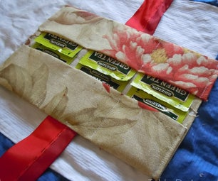 Tea Bag Travel Holder in 10 Minutes for 60 Cents!
