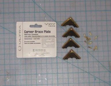 Add Brass Corners