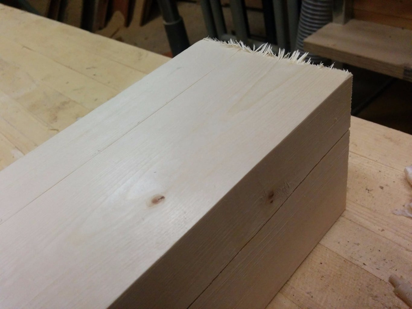 Step 5: Prepare Your Material for a Table Base
