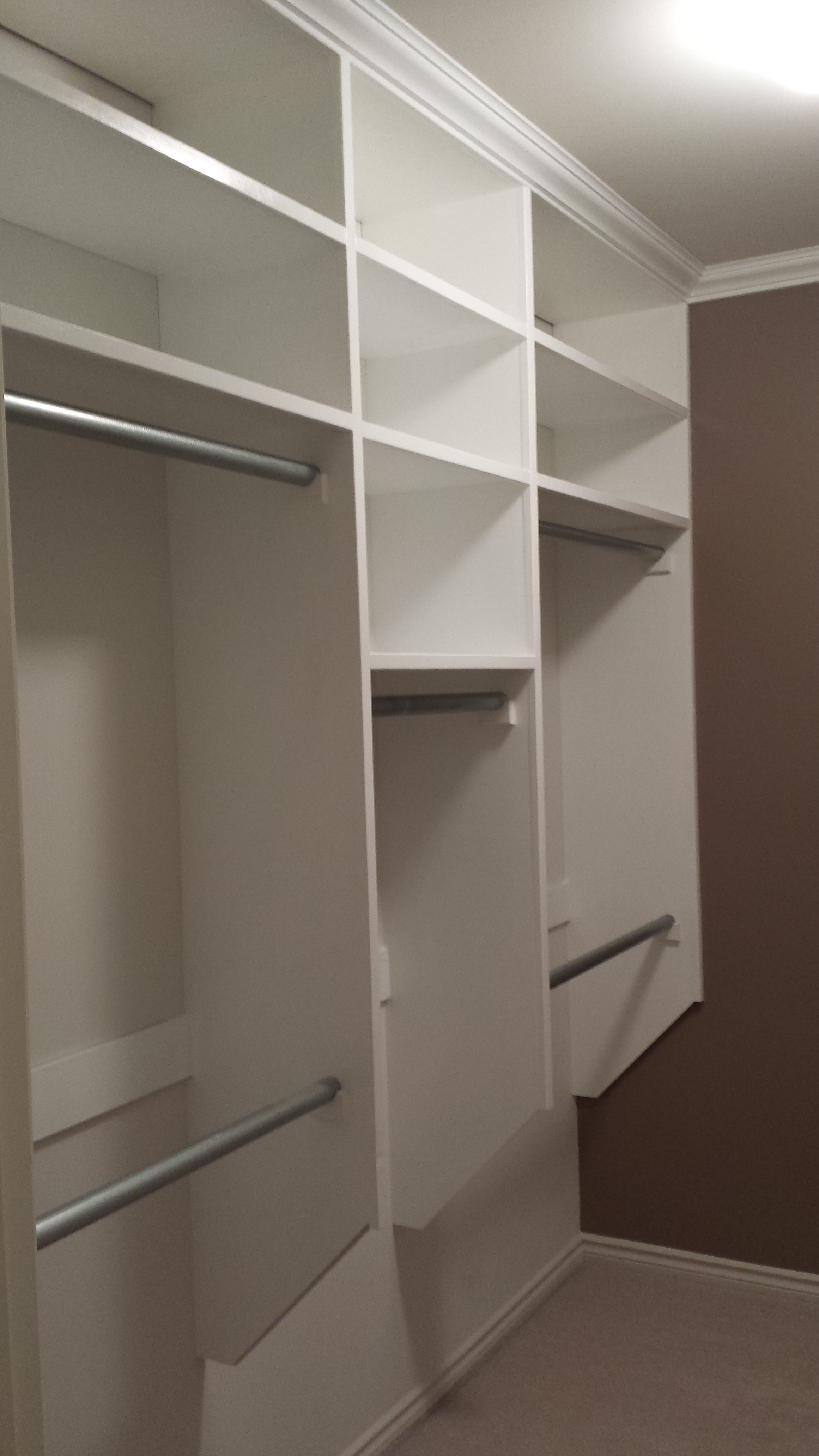 Walk In Closet Make Over On Budget 8 Steps With Pictures Instructables