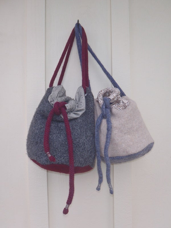 BIG BAG From Old Sweaters