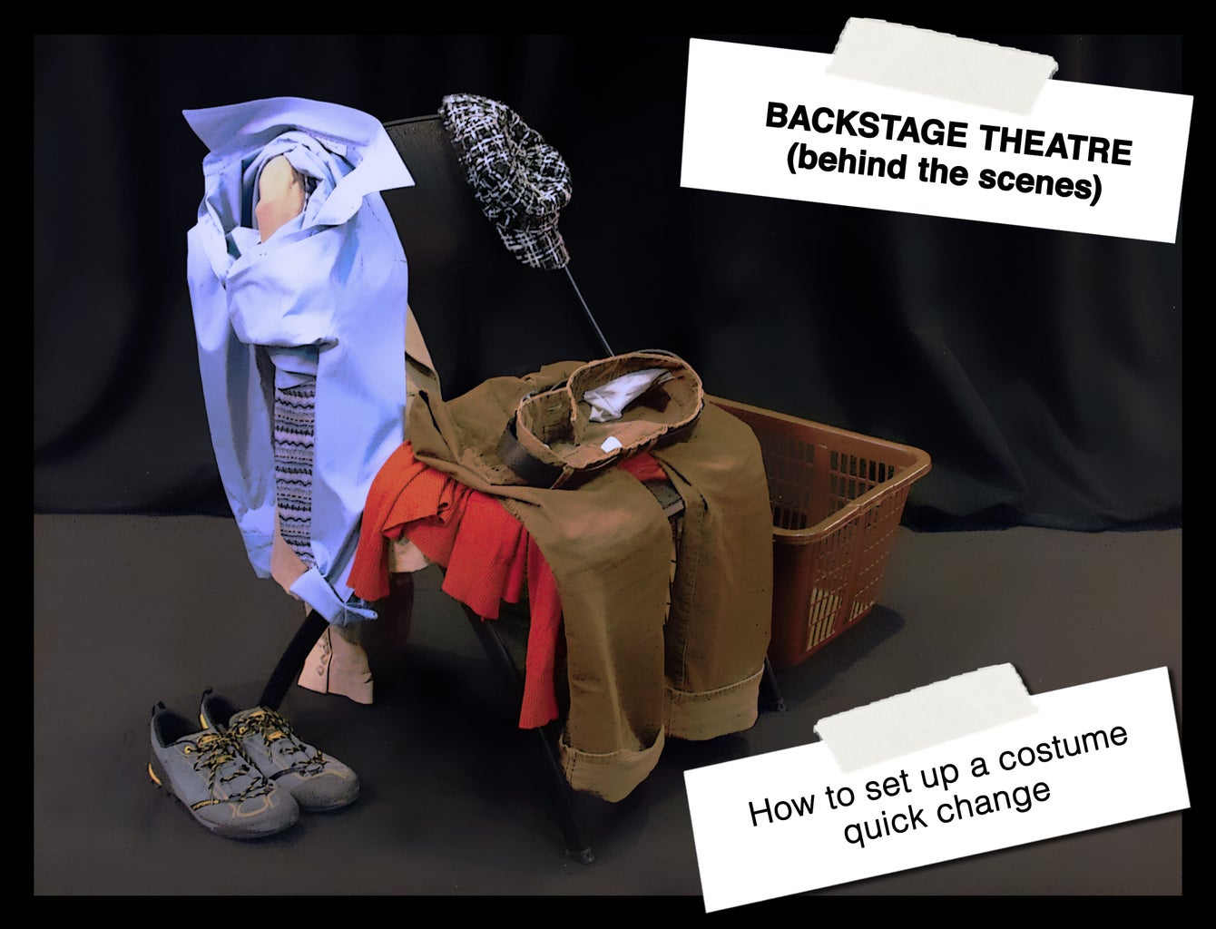 How to Set Up a Costume Quick-change