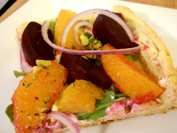 Beet Salad Tart