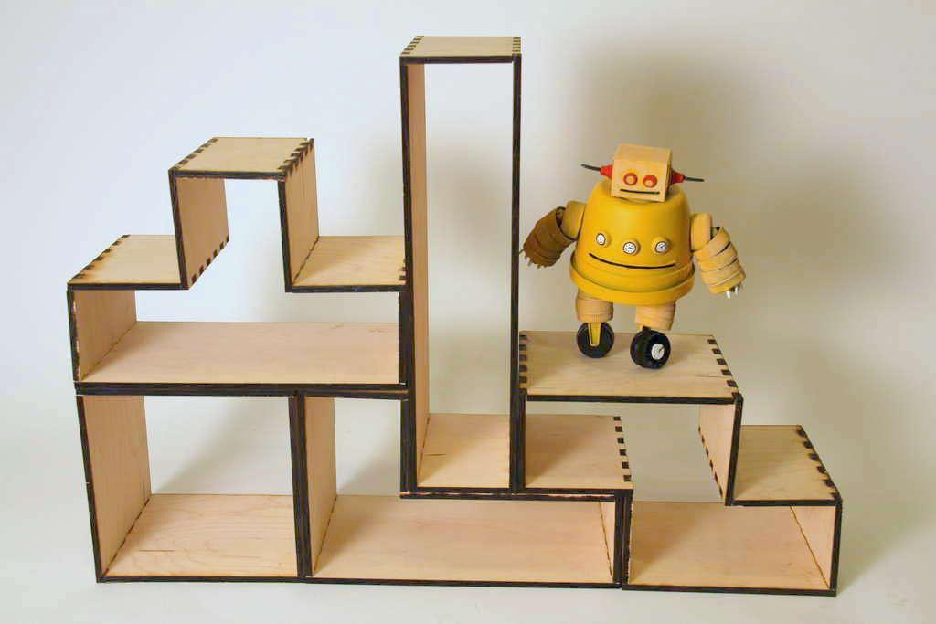 Tetris Bookshelf