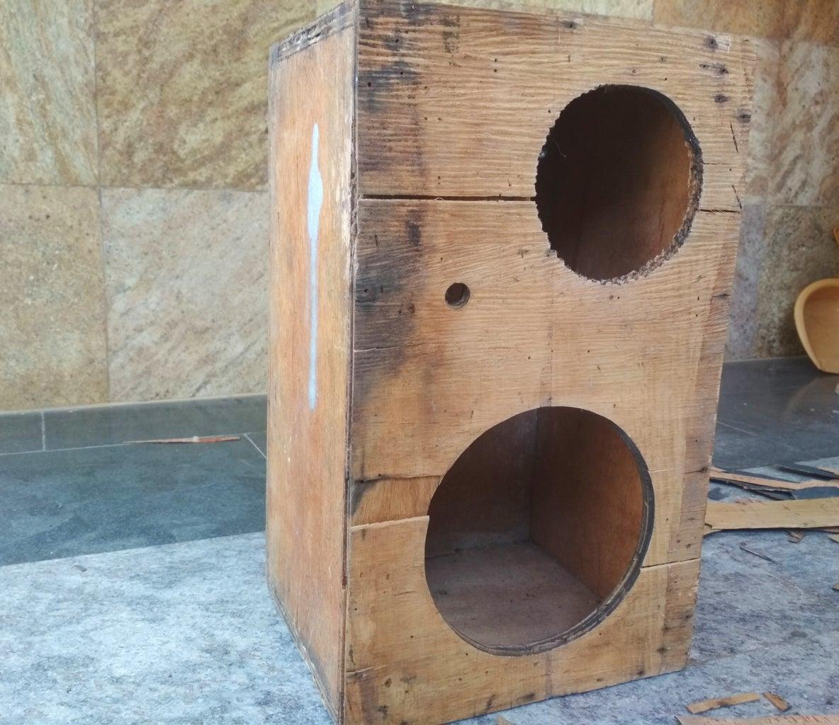Restoration of the Old Speaker Case