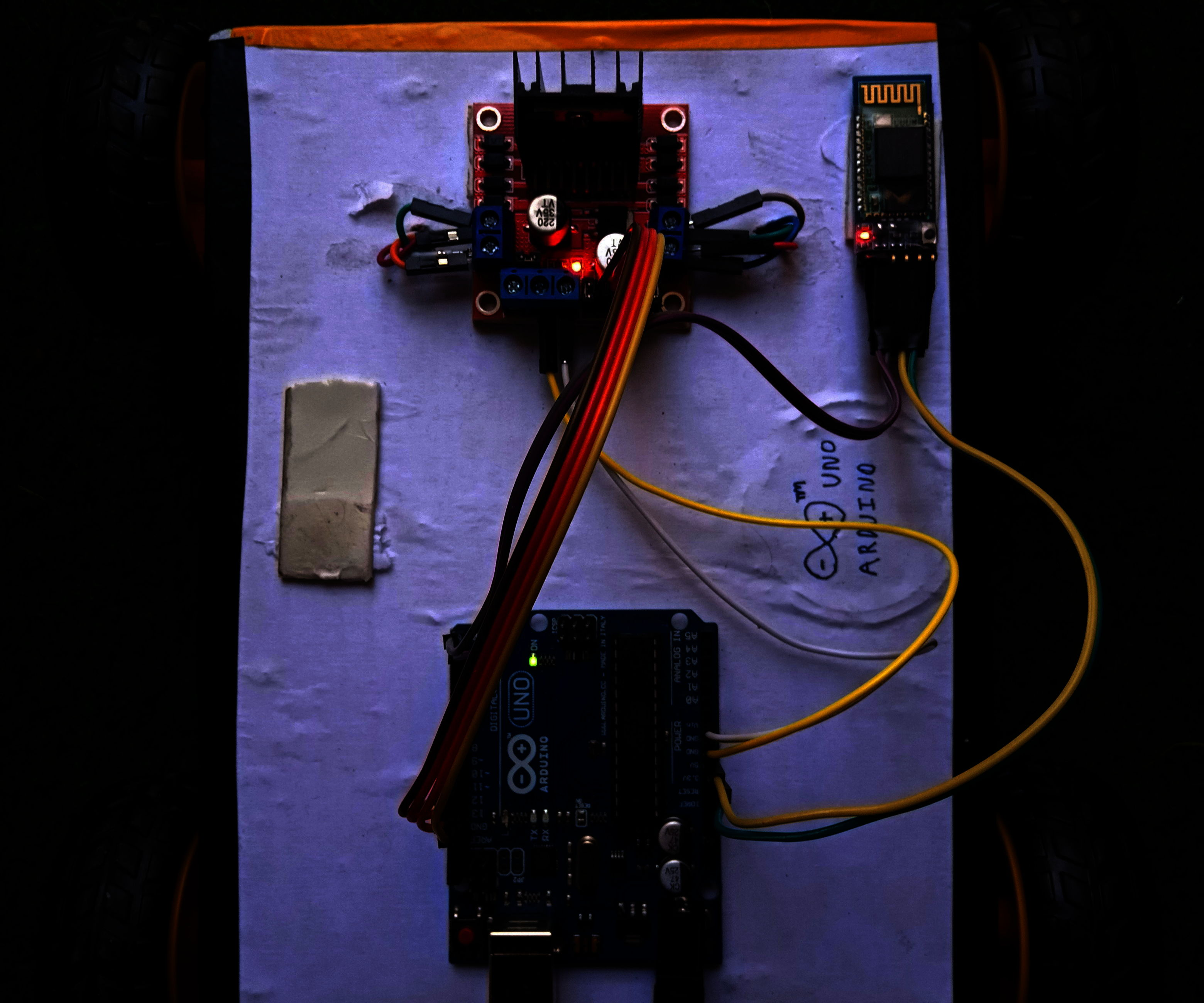 Bluetooth Controlled Car Using Arduino