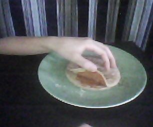 Simple Pizza Sandwich