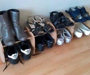 简易设计鞋架
