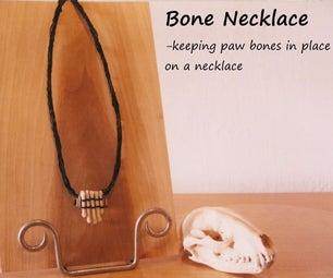 Paw Bone Necklace