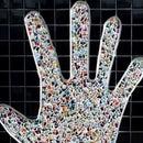 Mosaic Hand Art