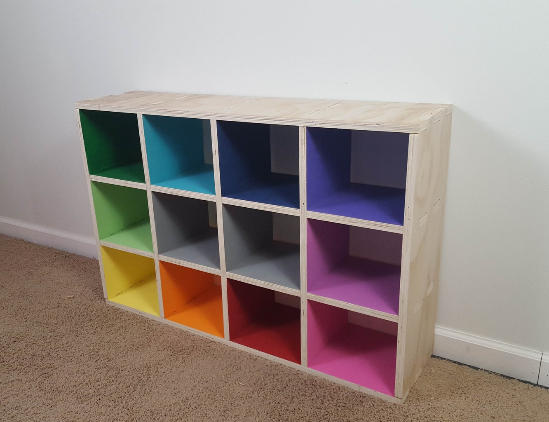 Enjoy Your Fancy New Cube Shelves!