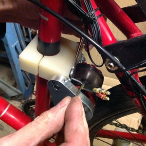 Fitting Friction Drive to Bike