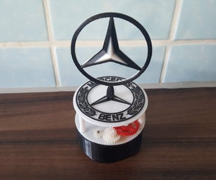 Mercedes-Benz Rotating Logo