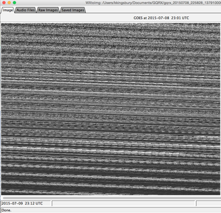 WXtoImg - Getting an Image From the Recorded Transmission