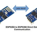 ESP8266 Direct Data Communication
