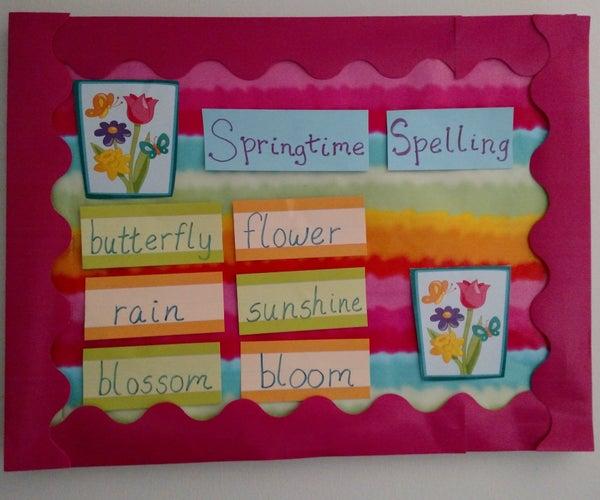 Creating a Classroom Bulletin Board