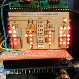 4-Stroke Digital Clock