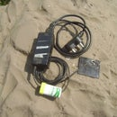 Power a Cell/mobile Phone With External Battery or Mains.