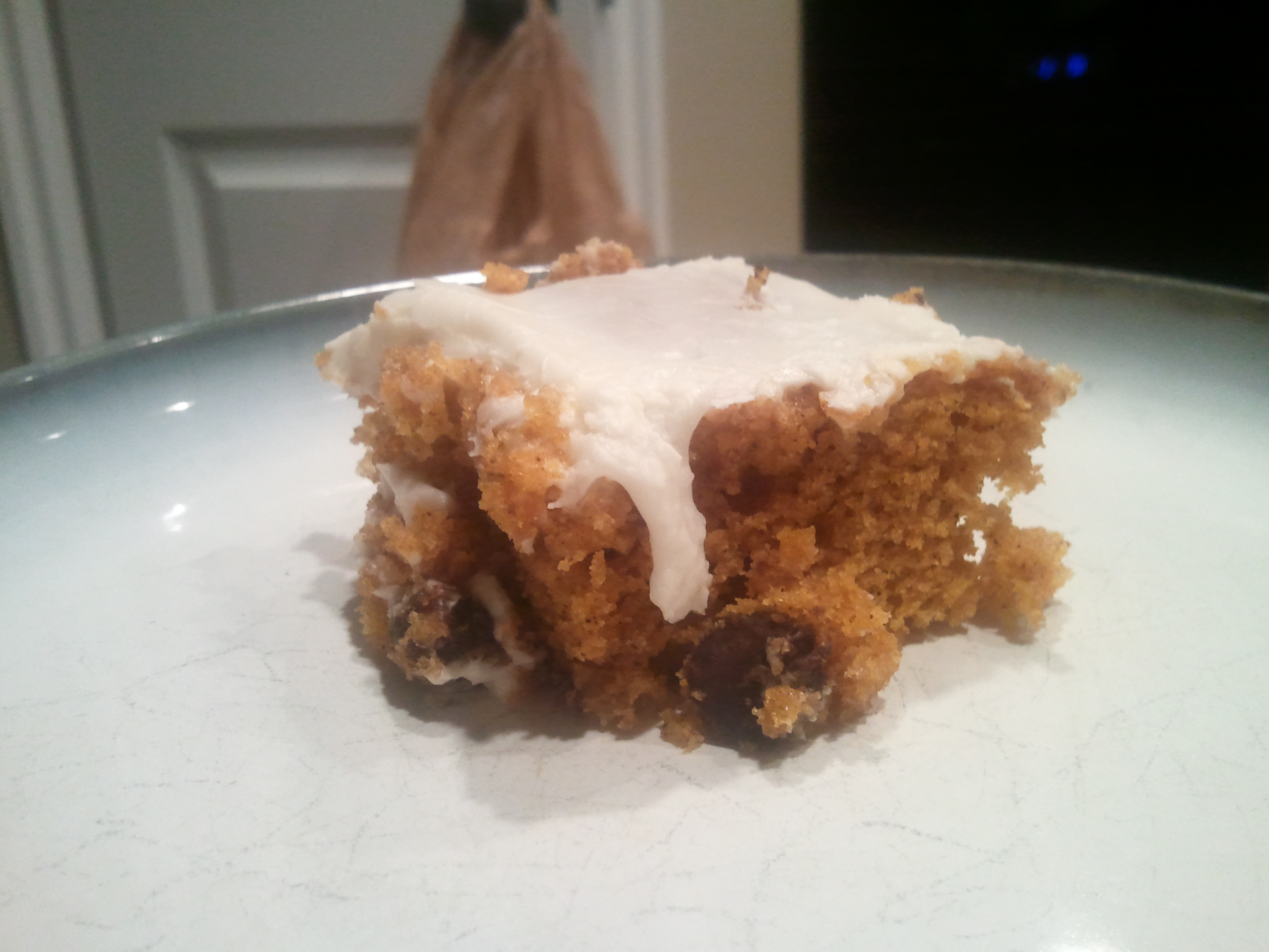 Quick and Easy Pumpkin Bars