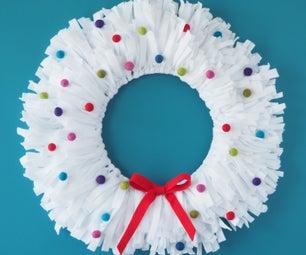 觉得胡里节day Wreath