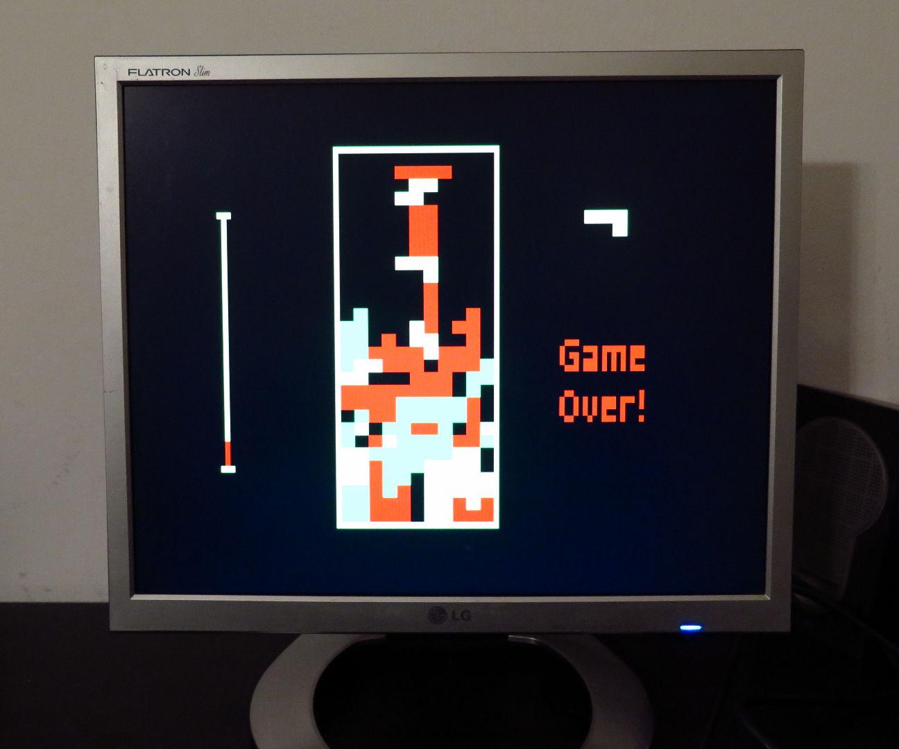VGA Tetris with Arduino Uno