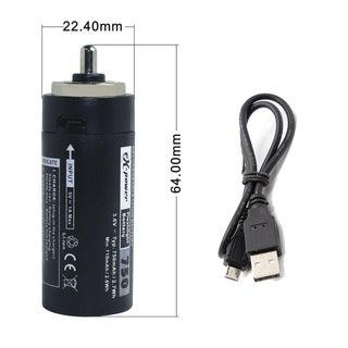 Convert a 3xAAA Flashlight to a Lithium 18650 Cell