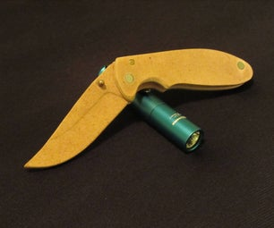 How to Make a Wooden Folding Knife