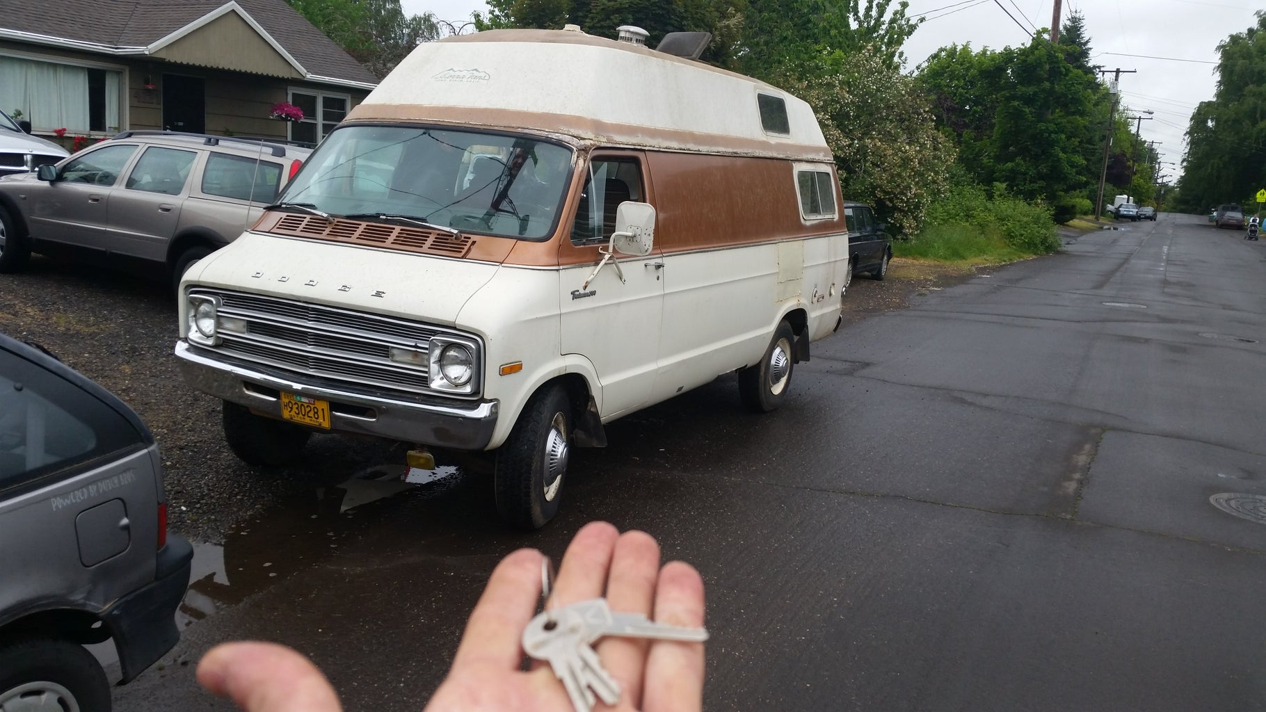 Selecting the Van