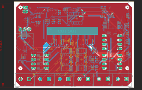 Step 1: Dimension of the PCB and Measure Them