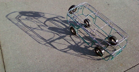 Wire Car Push Toy
