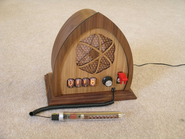 Nixie Tube Geiger Counter