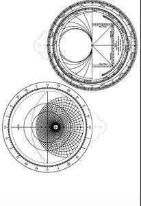 Edit the Astrolabe EPS Files for the Front and Back of the Astrolabe.
